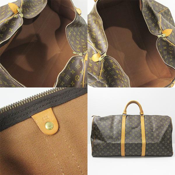 2fda0ed0e0f Louis Vuitton bag keepall 60 Monogram B ranked Boston travel bag M41422  men's women's LOUIS VUITTON