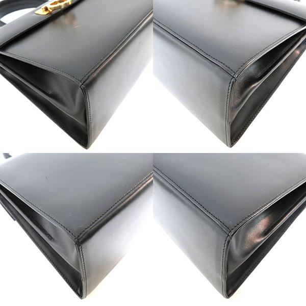 おすすめ フェラガモ バッグ ガンチーニ 2WAY ハンド レザー 黒 EA 212181 Bランクあす楽 送料無料湊川店dCoeWrxB