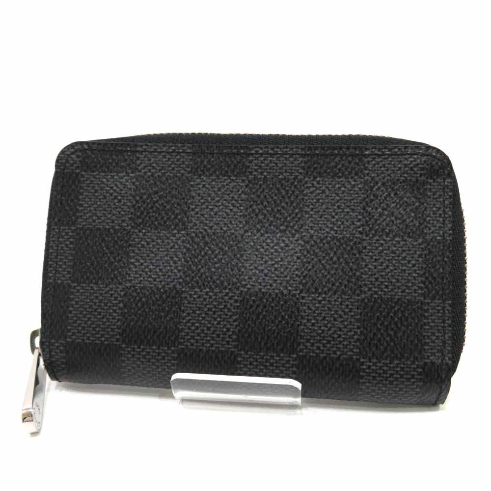ルイヴィトン Louis Vuitton 財布 ジッピー コインパース グラフィット ABランク M63076 レディース メンズ【中古】【送料無料】【あす楽】【三田店】