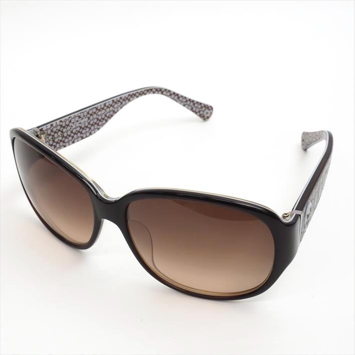 35a92fcaac17e COACH coach SILVIA square frame signature S742A plastic brand miscellaneous  goods Lady s sunglasses