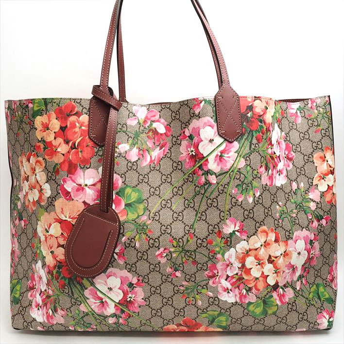 97e4e26118e 368571 GUCCI Gucci antique Rose bloom sprint reversible GG bloom GG bloom  scan bus X leather lady s gift present