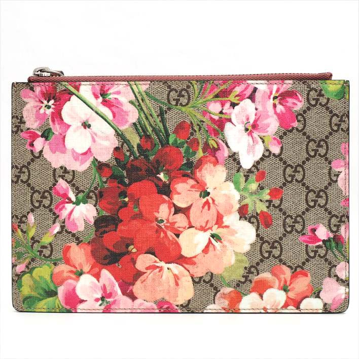 1e03a8e2286ce GUCCI Gucci floral print antique Rose GG bloom 410079.496085 GG bloom scan  bus X leather Lady's and others