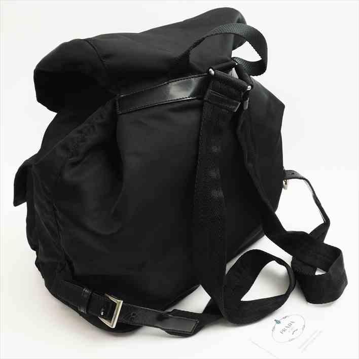 cc57698e23b3 PRADA Prada Pocono 1BZ811 V44 F0002 nylon X leather Lady s backpack rucksack