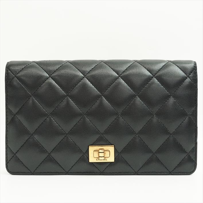 7d902cb6fd70 CHANEL Chanel 2.55 series matelasse A35304 lambskin Lady's wallet long  wallet (there is a coin ...