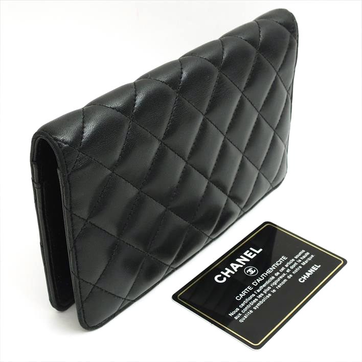 a45671a88d88 ... CHANEL Chanel 2.55 series matelasse A35304 lambskin Lady's wallet long  wallet (there is a coin ...