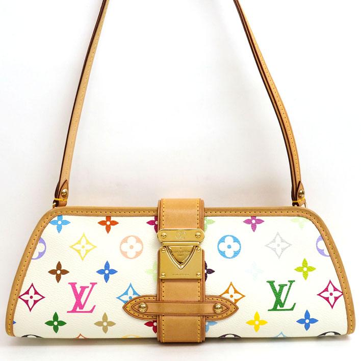 f2d18a08dbee1 LOUIS VUITTON Louis Vuitton Shirley monogram multicolored M40049 monogram  multicolored canvas Lady s shoulder bag