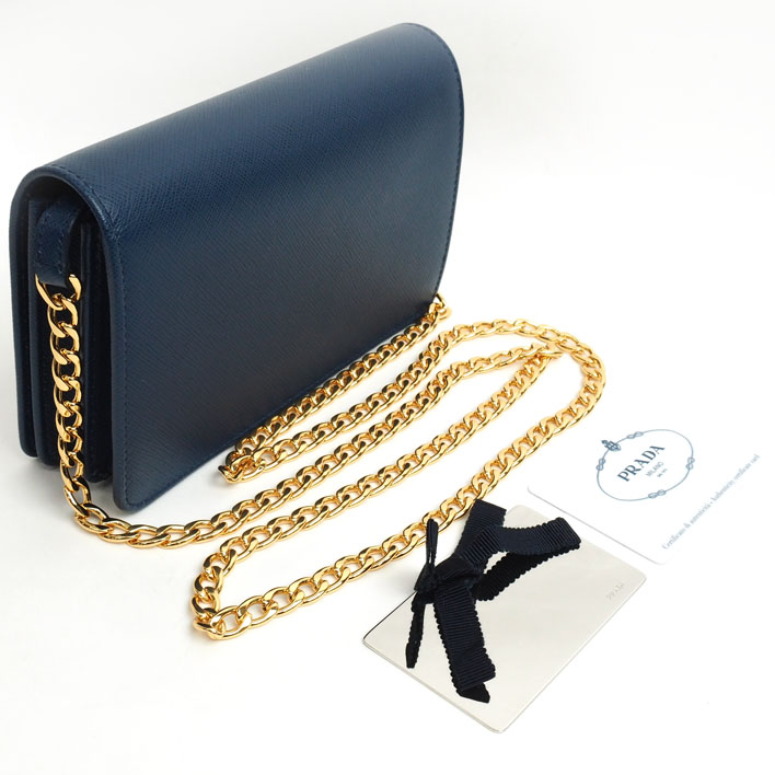 8f9d36124f3c ... discount code for ç å prada prada cross body wallet chain shoulder  saffiano 1 bp 600
