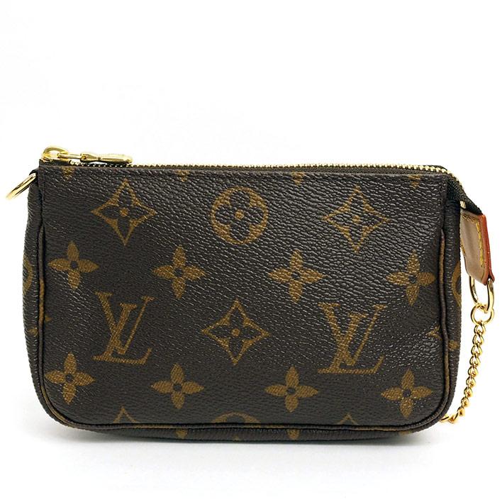 grand choix de 1a061 26d4d Louis Vuitton mini-pochette アクセソワールモノグラム M58009 Lady's