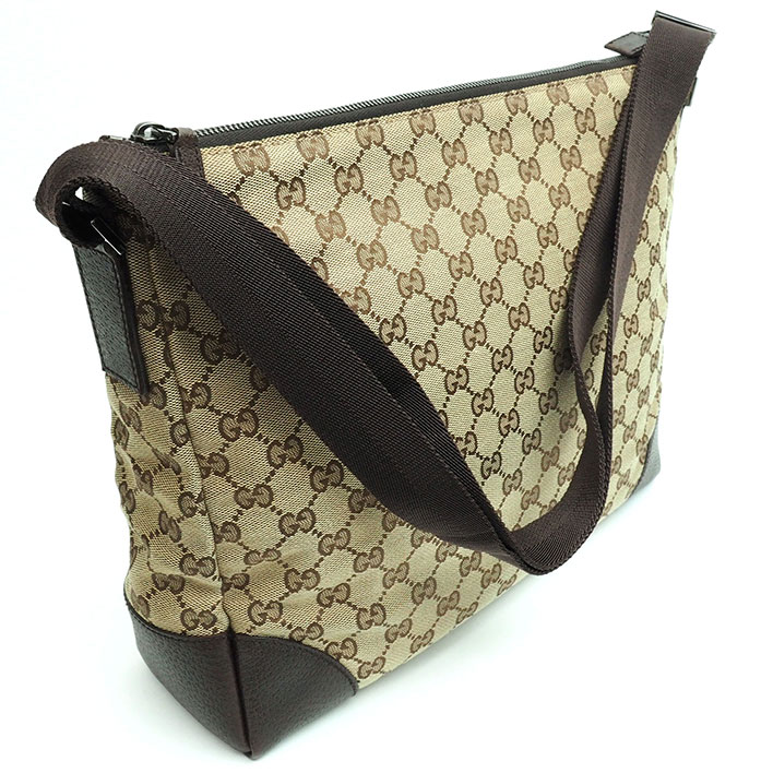 01102cc8746 BRAND SHOT TOKYO  GUCCI GG pattern seat angle messenger bag GG ...