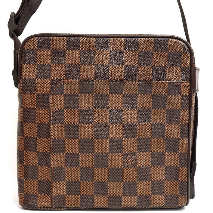 57c01a68dfa BRAND SHOT TOKYO  LOUIS VUITTON Olaf PM Damier N41442 shoulder bag ...