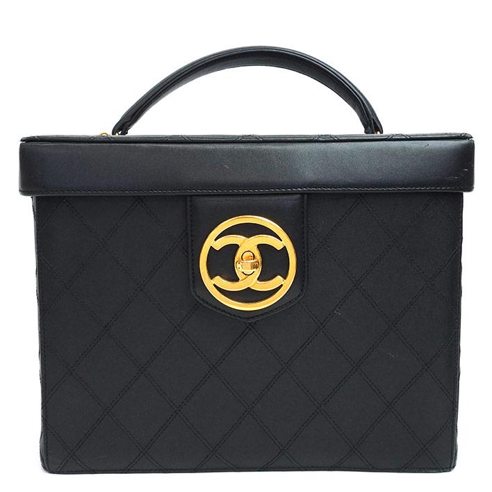 【中古】シャネル バニティバッグ コスメバッグ ゴールド金具 ビコローレ A01620 レディース【ハンドバッグ】 ギフト プレゼント