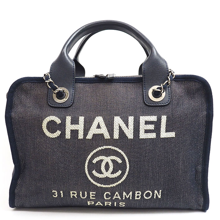 b38e13c1a01e BRAND SHOT TOKYO: Chanel 2WAY bowling bag shoulder bag Deauville ...