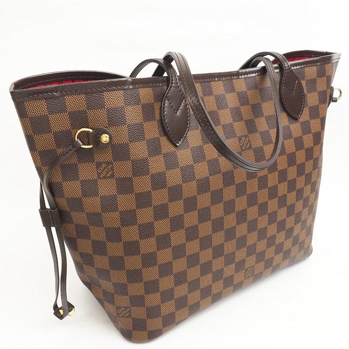 a508f60002f34 BRAND SHOT TOKYO  LOUIS VUITTON Neverfull MM Damier N51105 tote bag ...