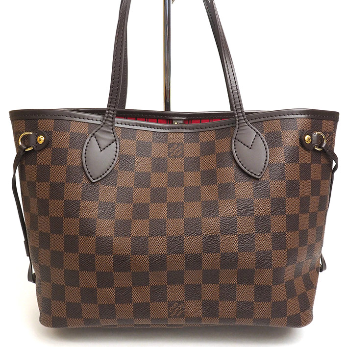 09e0d63cc BRAND SHOT TOKYO: LOUIS VUITTON Neverfull PM Damier N41359 tote bag ...