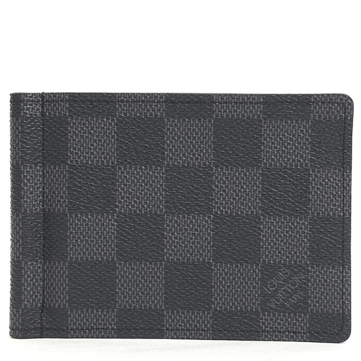 【ほぼ新品】ルイ ヴィトン ポルトフォイユ・パンス ダミエグラフィット N41623 【二つ折り財布】【中古】