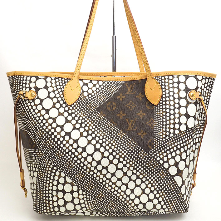 ffc379736a41 LOUIS VUITTON Neverfull MM Yayoi Kusama Yayoi Kusama collection Monogram  Wave M40684 tote bag