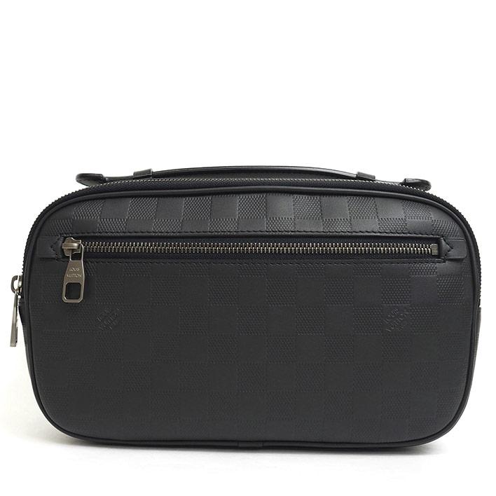60e1794a051 LOUIS VUITTON Anbureru Damier Infini N41288 Body bag waist pouch