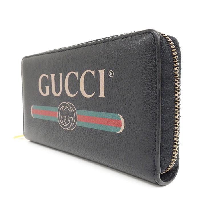 a394d98f38cc37 ... GUCCI 2018 cruise line vintage logo print round zipper long wallet 496  317-0416 long ...