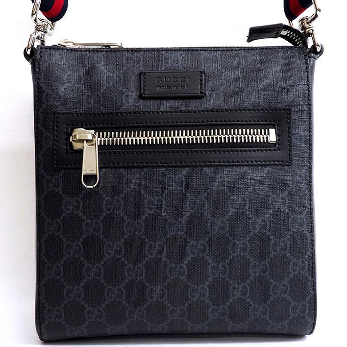ad6d321cd2b1e7 GUCCI Small messenger bag GG pattern seat angle cross body Web line × GG  Supreme 523599 ...