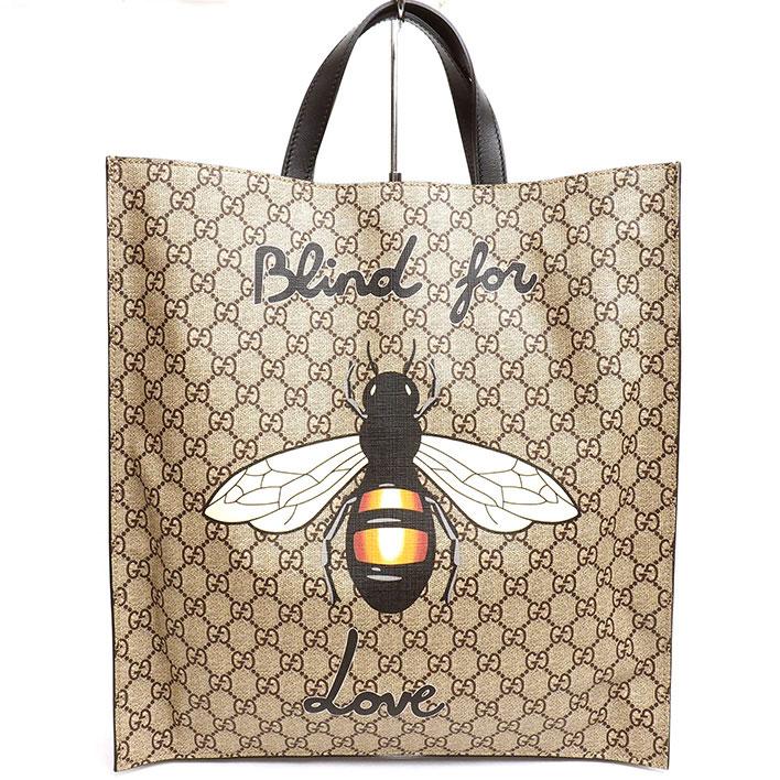 70a1815d8b37 BRAND SHOT TOKYO: GUCCI Bee bee bee print 2WAY shoulder bag GG ...