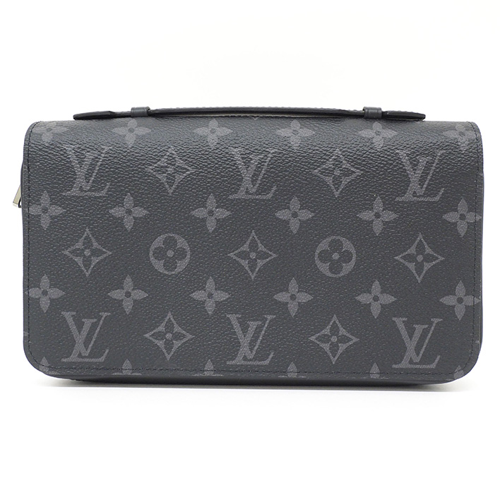 50051d1b3fa4 BRAND SHOT TOKYO  LOUIS VUITTON Zippy XL Monogram Eclipse M61698 long wallet