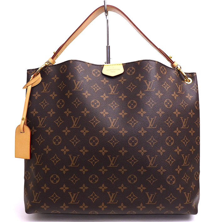 57bf92102f9d BRAND SHOT TOKYO  LOUIS VUITTON Graceful MM Monogram M43704 Shoulder bag