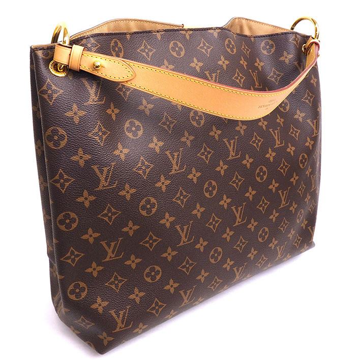 7e27a5e1e66a BRAND SHOT TOKYO  LOUIS VUITTON Graceful MM Monogram M43704 Shoulder ...