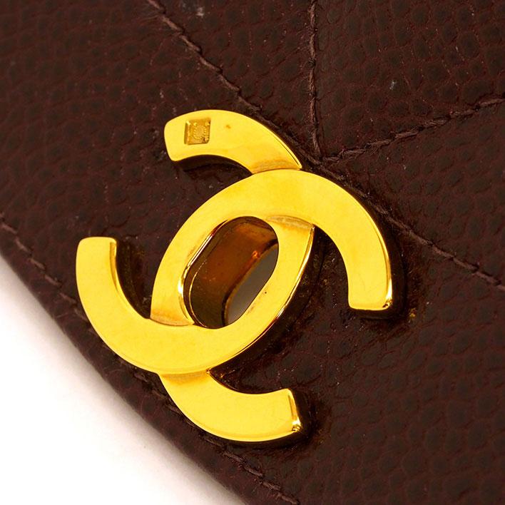 美品 シャネル 22 ダイアナフラップ シングルチェーン シングルフラップ ゴールド金具 マトラッセ A01164ショルダーバッグhxQsrtCd