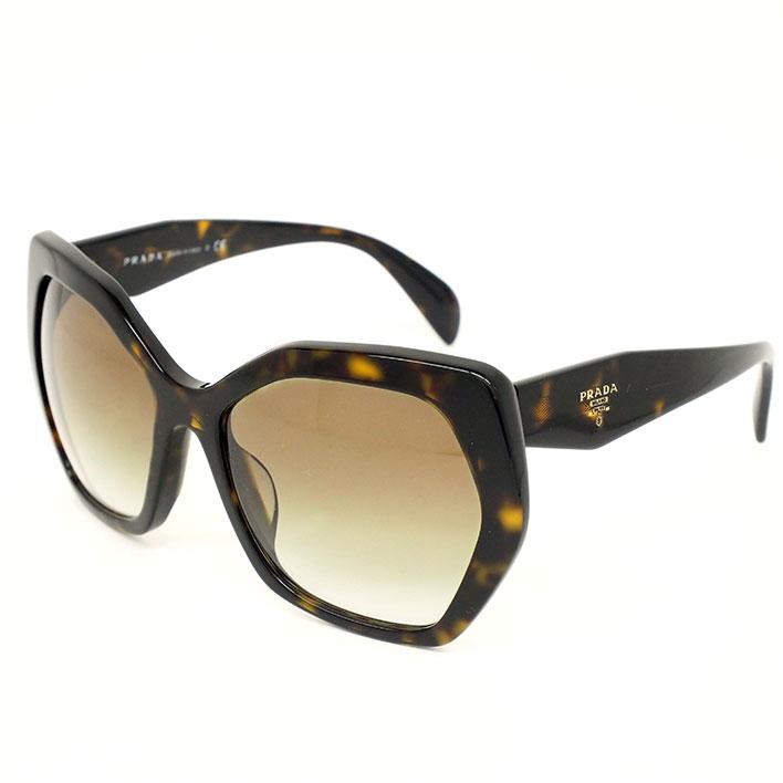 d4378f4a8596 PRADA Havana eyewear tortoiseshell frame SPR 16RF 2AU4M0 Ladies Sunglasses  ...