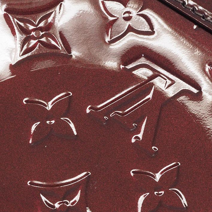 ルイ ヴィトン アルマ BB ヴェルニ M91678ハンドバッグGOODA掲載美品lK3FT1Jc