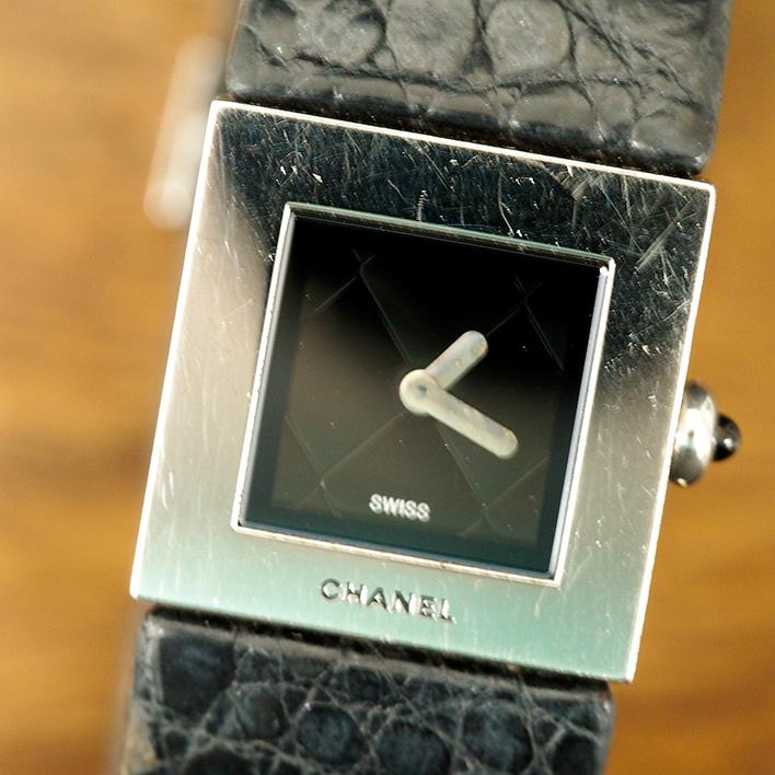 人気定番 【】シャネル CHANEL マトラッセ レディース 【腕時計】 電池交換済み, AGコーポレーション c29635e1