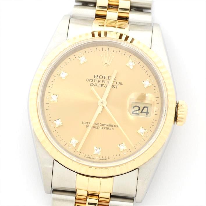 暮らし健康ネット館 【】【新品仕上げ済み】ROLEX ロレックス デイトジャスト X414601(1991年製造) 【腕時計】, バーズソウル deaf27d9