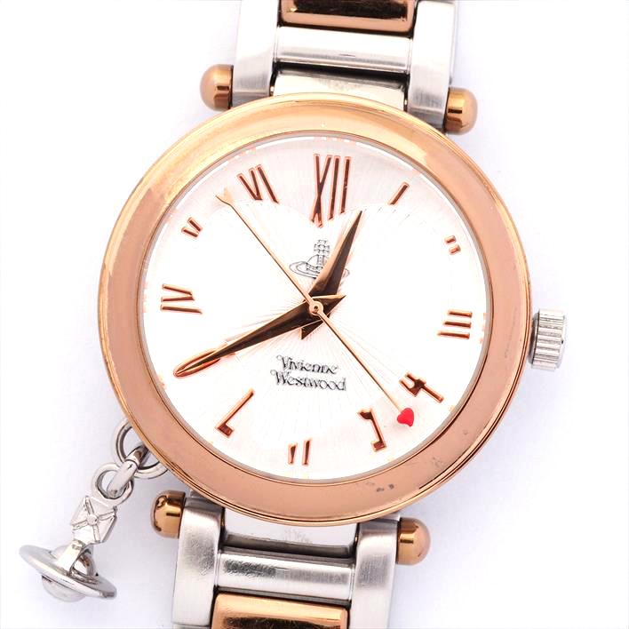 【中古】ヴィヴィアン Ref. VV006RSSL レディース Vivienne Westwood【腕時計】 ギフト プレゼント ギフト プレゼント