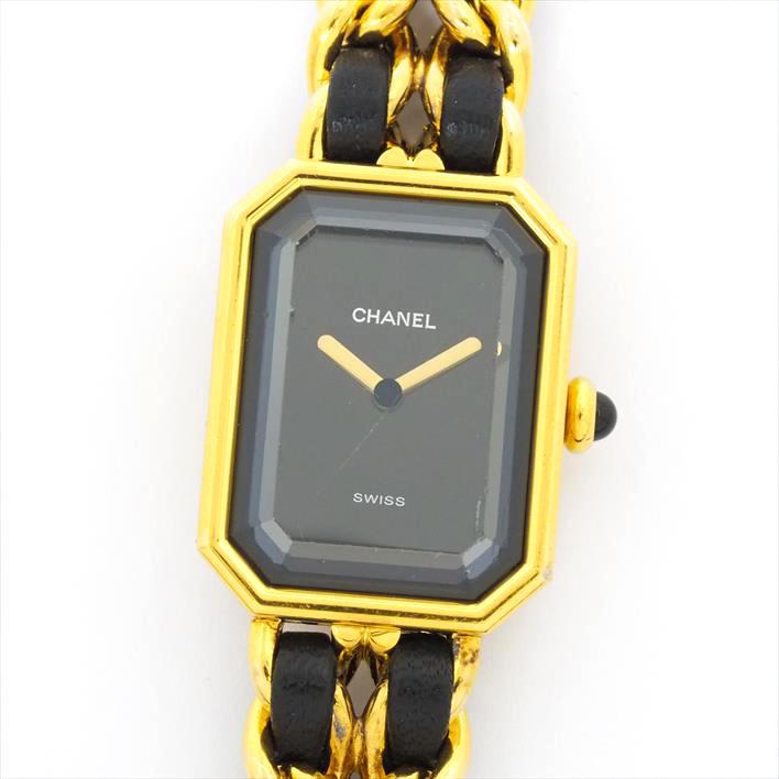 【中古】シャネル プルミエール M レディース CHANEL Premiere M【腕時計】 ギフト プレゼント ギフト プレゼント【GOODA掲載】