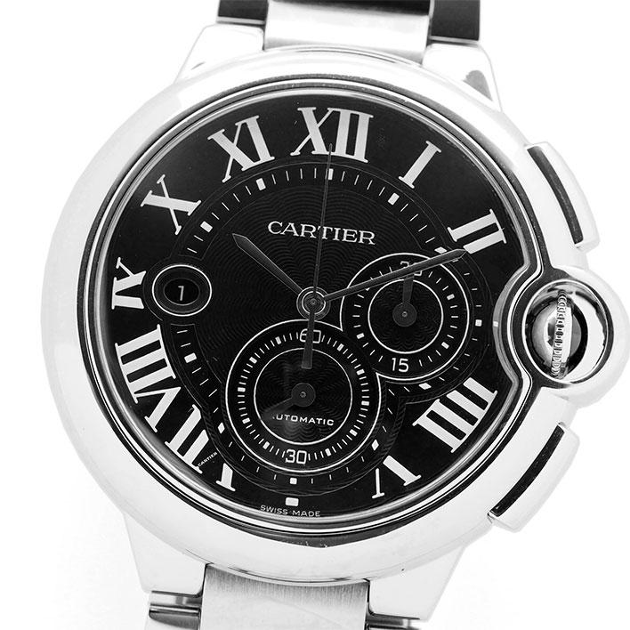【中古】カルティエ バロン ブルー クロノグラフ Ref. W6920052 メンズ Cartier BALLON BLEU CHRONOGRAPH【腕時計】 ギフト プレゼント
