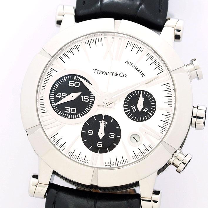 【中古】ティファニー アトラス クロノグラフ Ref. Z10008212A21A71A メンズ TIFFANY&Co. ATLAS CHRONOGRAPH【腕時計】 ギフト プレゼント
