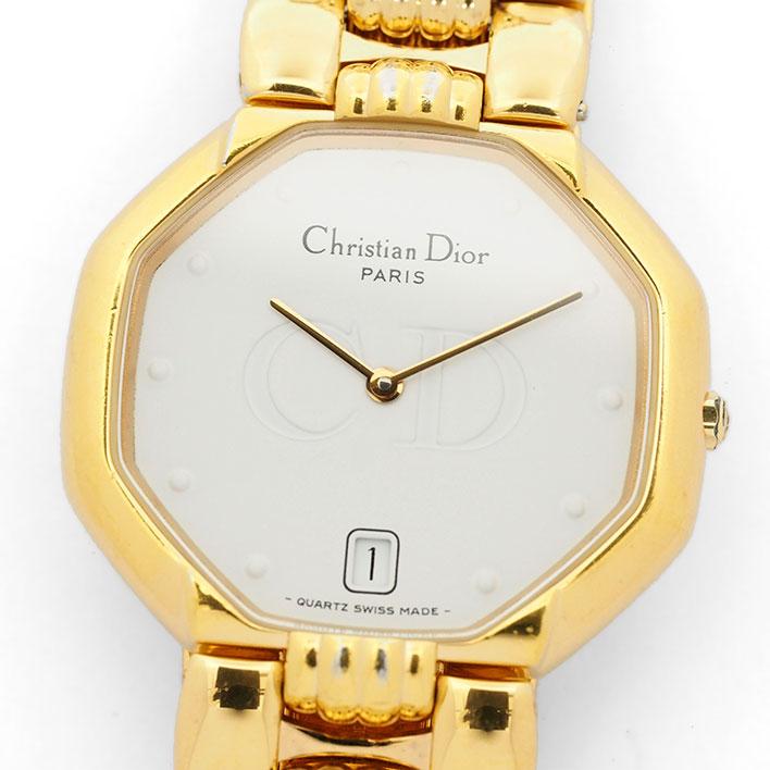 【中古】ディオール デポーズ Ref. 45154 レディース Dior DEPOSE【腕時計】 ギフト プレゼント