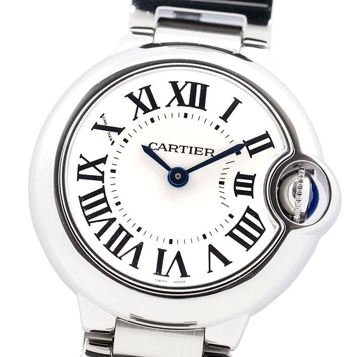 カルティエ バロン ブルー Ref. W69010Z4 レディース Cartier BALLON BLEU【中古】【腕時計】