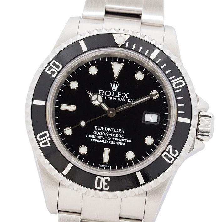 【エントリーでポイント5倍】 【中古】ロレックス シードゥエラー Ref. 16600 メンズ ROLEX SEA-DWELLER 【腕時計】 ギフト プレゼント