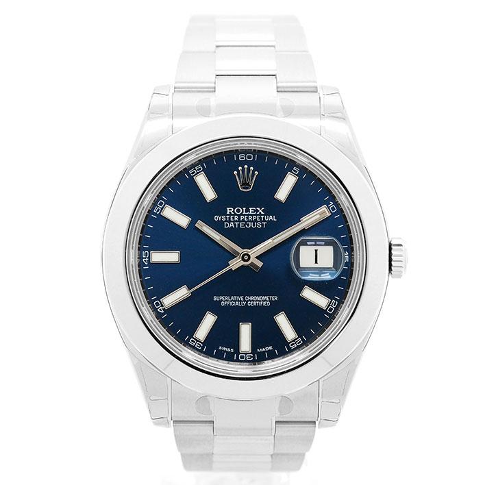 【エントリーでポイント5倍】 【中古】【新古品】 ロレックス デイトジャスト II Ref. 116300 メンズ ROLEX DATEJUST II【腕時計】 ギフト プレゼント