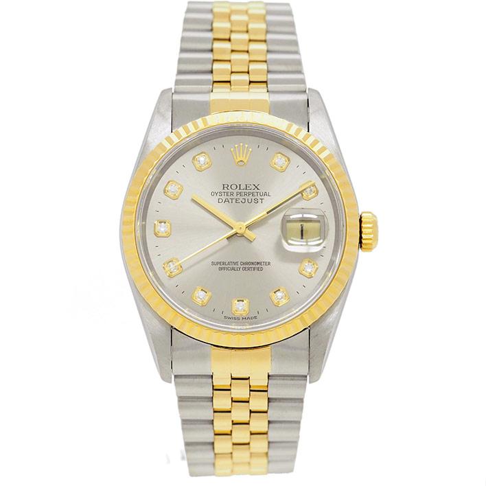 【中古】ロレックス デイトジャスト Ref. 16233G メンズ ROLEX DATEJUST【腕時計】 ギフト プレゼント