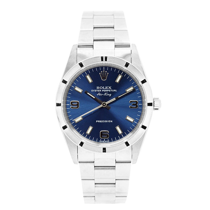 【エントリーでポイント5倍】 【中古】ロレックス エアキング Ref. 14010M 男女兼用 ROLEX Air-King【腕時計】 ギフト プレゼント