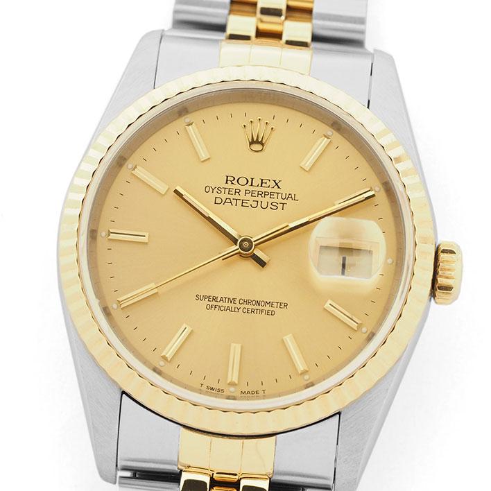 【中古】ロレックス デイトジャスト Ref. 16233 メンズ ROLEX DATEJUST【腕時計】