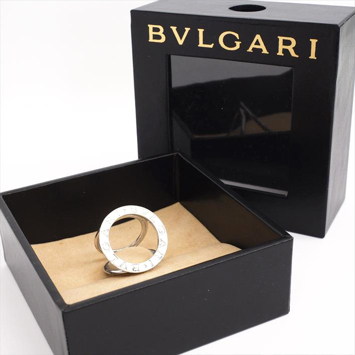 【送料無料】 ブランドジュエリー ユーズド 【中古】BVLGARI ブルガリ ブルガリ・ブルガリ スカーフリング SV925 スカーフリング ギフト プレゼント【GOODA掲載】