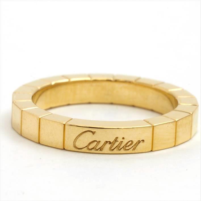 【中古】Cartier カルティエ ラニエール リング 8.5号 750/K18YG ギフト ギフト プレゼント【GOODA掲載】【新品仕上げ済み】