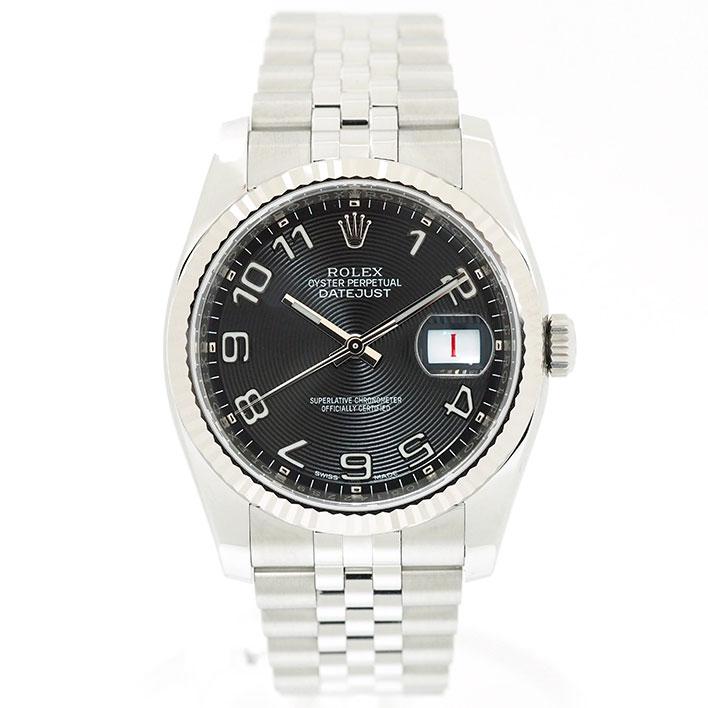 【エントリーでポイント5倍】 【中古】【未研磨品】 ロレックス デイトジャスト Ref. 116234 メンズ ROLEX DATEJUST【腕時計】