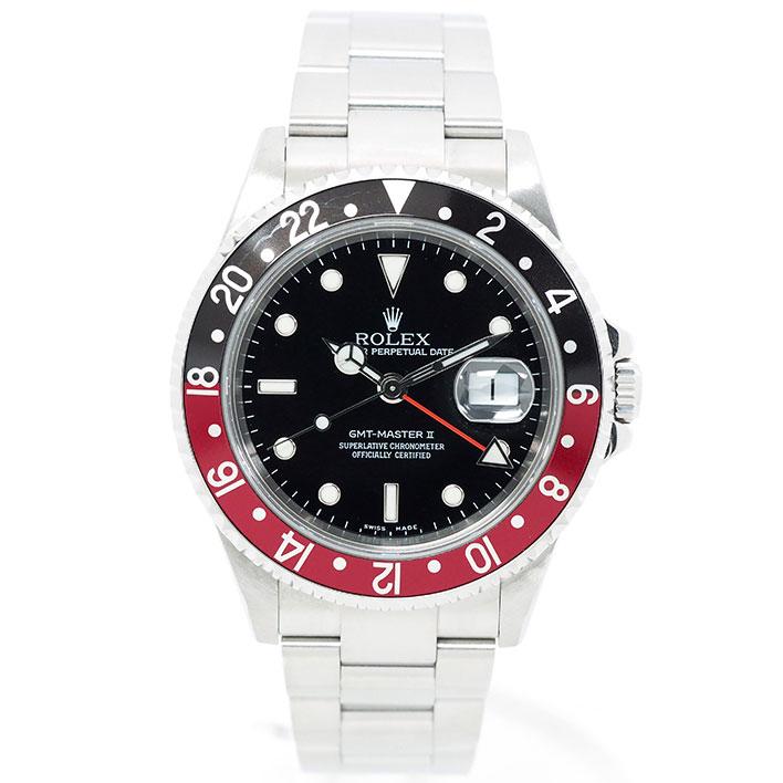 【エントリーでポイント5倍】 【中古】ロレックス GMTマスターII Ref. 16710 メンズ ROLEX GMT-MASTER II【腕時計】