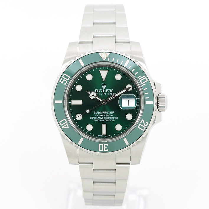 【エントリーでポイント5倍】 【中古】ロレックス サブマリーナ Ref. 116610LV メンズ ROLEX SUBMARINER【腕時計】
