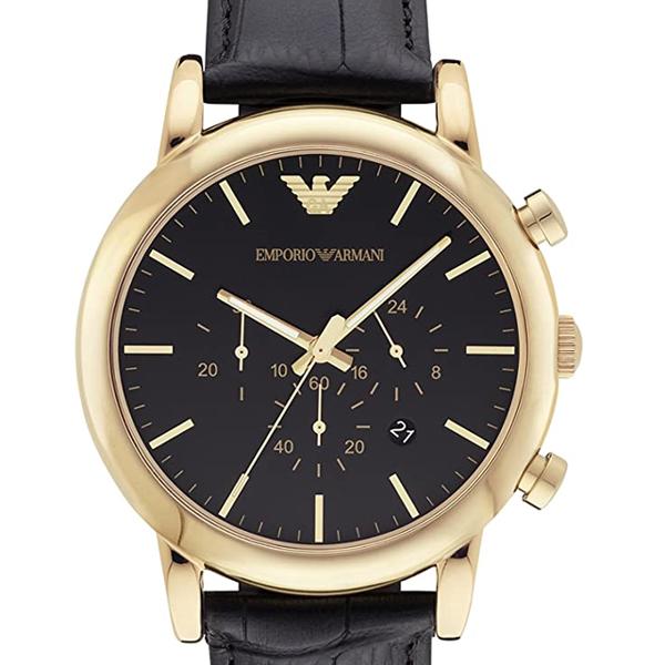 誕生日や記念日のプレゼント 期間限定の激安セール 人気 おすすめ 限定特価 EMPORIO ARMANI 25%OFF エンポリオアルマーニ 時計 TU1022 ラッピング無料 腕時計 AR1917 メンズ クォーツ LUIGI