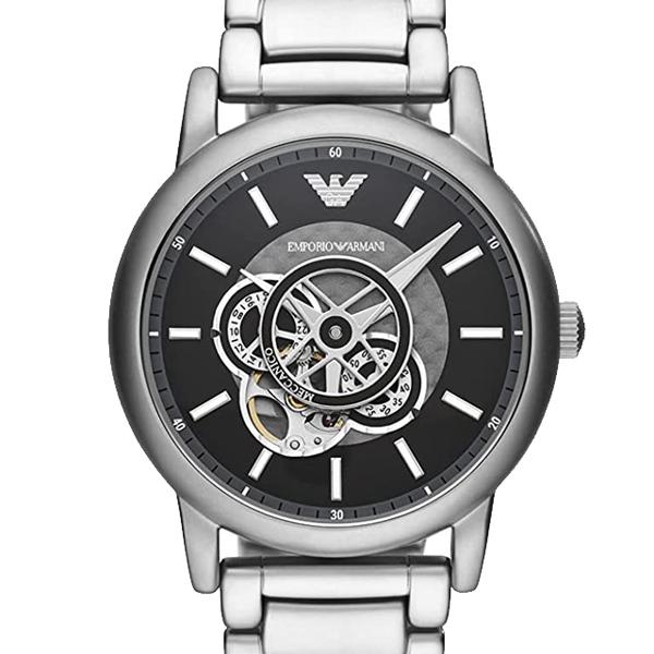 誕生日や記念日のプレゼント 人気 おすすめ 限定特価 EMPORIO ARMANI 通信販売 エンポリオアルマーニ 時計 LUIGI TU1022 自動巻き メンズ 最安値 腕時計 ラッピング無料 AR60021